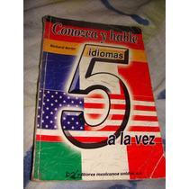 Libro Conozca Y Hable 5 Idiomas A La Vez