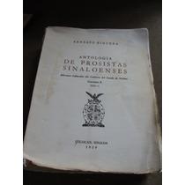 Libro Antologia De Prosistas Sinaloenses, Volumen Ii, Tomo I