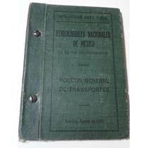 Boletín General De Transportes (ferrocarriles De Mex/1930)