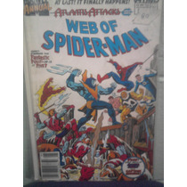 Marvel Comics Hombre Araña En Ingles Web Of Spiderman