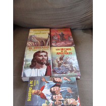 5 Libros Religion, Tesoros De La Vida, Seguridad Y Paz, El D