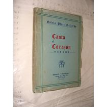 Libro Antiguo Año 1945 ,canta El Corazon Versos , Estela Per