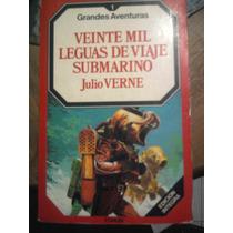 Libro 20 Mil Leguas De Viaje Submarino Julio Verne