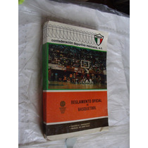 Libro Reglamento Oficial De Basquetbol , 351 Paginas , Año