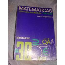Libro Matematicas 1er Curso, Luis Parra Garcia, Area Asignat