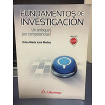 Fundamentos De Investigación Editorial Alfa Omega