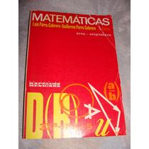 Libro Matematicas 2do Curso, Luis Parra Garcia, Area, Asigna