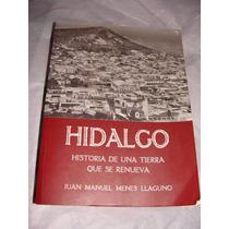Libro Hidalgo Historia De Una Tierra Que Se Renueva, Juan M