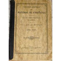 Catálogo Material Enseñanza México 1906 Escuelas Libro