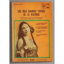 Libro Duda Ilustrado Grandes Espías Sorge Mata Hari 1973
