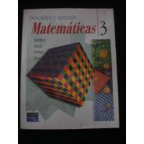 Descubre Y Aprende Matemáticas 3 Martínez Téllez María Del P