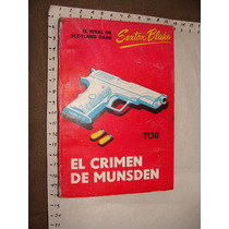 Libro El Crimen De Munsden, Sexton Blake, Ediciones Tor, Año