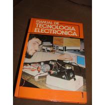 Libro Manual De Tecnologia Electronica Oceano, 4 Tomos, Añ