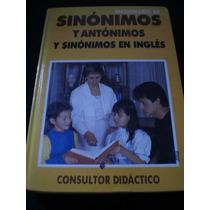 Diccionario De Sinónimos Y Antónimos Y Sinónimos En Inglés