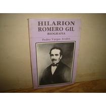 Hilarion Romero Gil, Biografía - Pedro Vargas