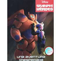 Grandes Heroes (disney) Libro De Actividades Gratis Envio
