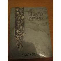 Literatura Española (tercer Curso), S. Anaya Solorzano
