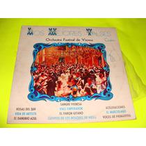 Acetato Los Mejores Valses, Orchestre Festival De Vienne