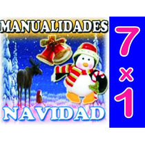Aprende Manualidades De Navidad 7 X 1 Envio Gratis