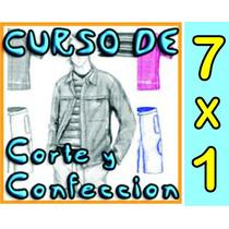 Curso D Corte Y Confección 7 X 1 Envio Gratis .d Editorial