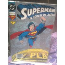 Dc Comics Superman El Hombre De Acero N.1 Batman Vintage Vid
