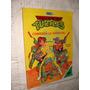 Libro Tortugas Ninja , Libro Para Colorear , Año 1988 , Fern