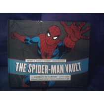 Libro Marvel The Spiderman Vault Pasta Dura Hombre Araña