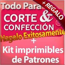 Kit Imprimible Patrones Ropa Dama Caballero Y Niños + Libros