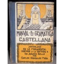 Libro Manual De Gramática Castellana