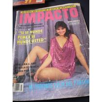 Revista Impacto María Conchita - Mario Sojo Año 1986 #1873