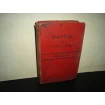 Manual De Historia Natural-manuel María José De Galdo -1880