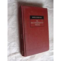 Libro El Procedimiento Penal , Manuel Rivera Silva , Año 19