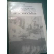 Libro Acta Periodistica