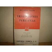 Libro - Tradiciones Peruanas - Ricardo Palma