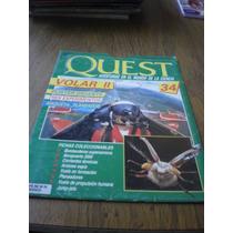 Revista Y Poster Quest Volar Ii No. 34 Maqueta Planeador