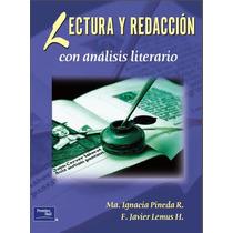 Lectura Y Redacción Con Análisis Literario Pdf