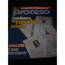 Proceso - Expedientes Del Espionaje Político, #1653, Año2008