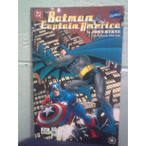 Dc Comics Batman Vs Capitan America Vid Marvel Crossover