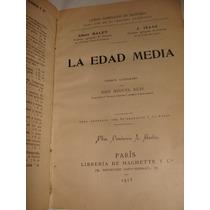 Libro La Edad Media, 1913