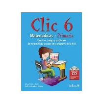 Libro Clic 6 Matematicas