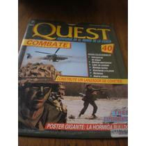 Revista Y Poster Quest Combate No. 40 Hormiga Bulldog