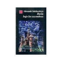 Libro Rusia Bajo Los Escombros *cj