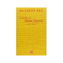 Libro Cartas A Tomas Segovia