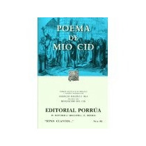 Libro Poema De Mio Cid -7520 *cj