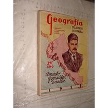 Libro Geografia Del Estado De Sinaloa , 3er Año , Amado Gonz