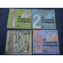 Paquete De 3 Libros Asi Se Desarrolla La Inteligencia Enriqu