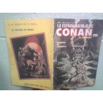 Comic La Espada Salvaje De Conan Novedades Número Bajo 4