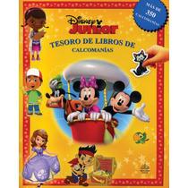 Tesoro De Libros De Calcomanias: Disney Junior