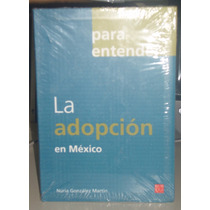 Libro Para Entender La Adopción En México