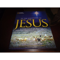 Libro In The Footsteps Of Jesus National Geographic +++